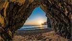 пещерный закат