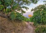 монастырская лестница на пляж