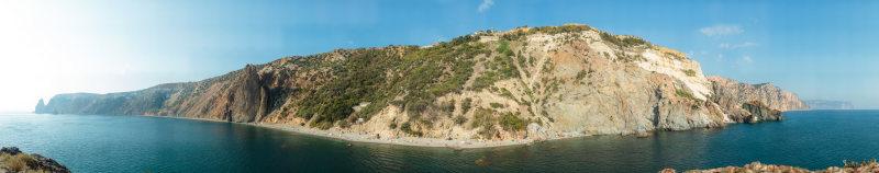 гигапиксельная панорама: мыс Фиолент с Георгиевской скалы